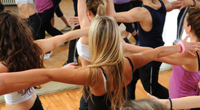 aerobica total body palestra olympia a latina