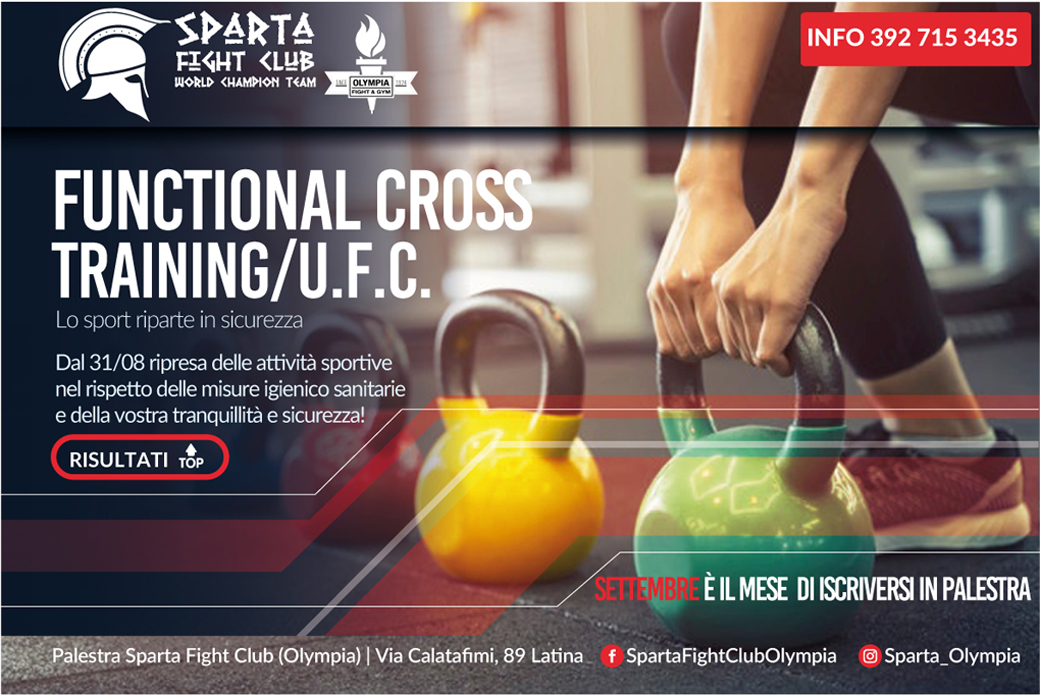 Functional Cross Training a latina